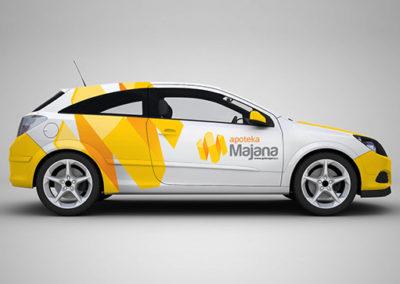 Majana Logo Development
