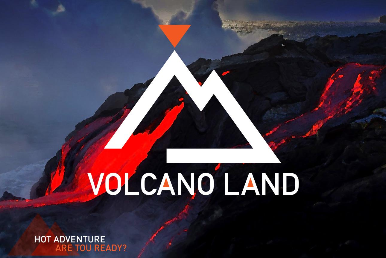 volcanoland logo